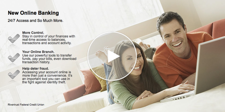 New Online Banking banner